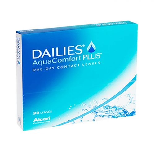Контактные линзы Dailies Aqua Comfort plus, 90 lenses